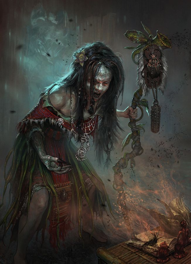 Philippines' MAMBABARANG (summoner) __ is a witch who uses insects and spirits to enter the body of any person they hate.
