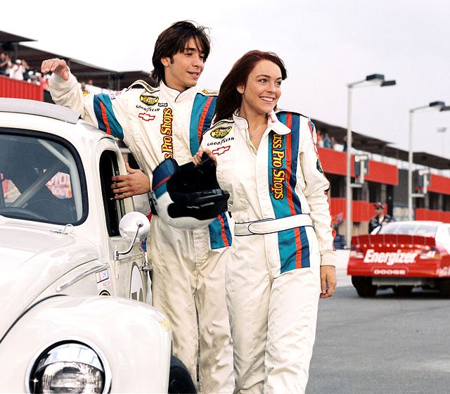 Herbie Fully Loaded, 2005 Lindsay Lohan and Justin Long ❤️