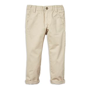 Cotton Twill Chinos Beige