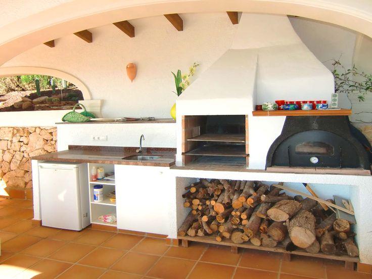 les 10 meilleures images du tableau coin barbecue sur pinterest piscines cuisine exterieur et. Black Bedroom Furniture Sets. Home Design Ideas