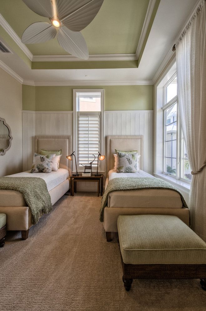 "Interior Design Of Bed Rooms: Guest ""twin"" Bedroom"
