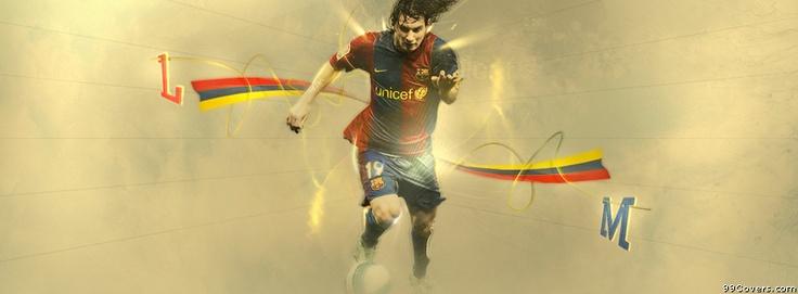 Barcelona Lionel Messi Facebook Covers