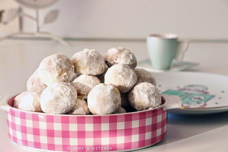 Damy's Kitchen: Kartopu Kurabiyeleri / Snowball Cookies