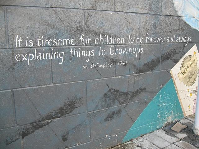 Orewa Library mural quote
