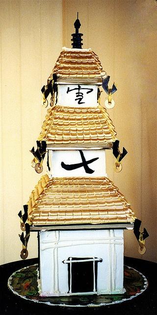 Japanese Pagoda Cake