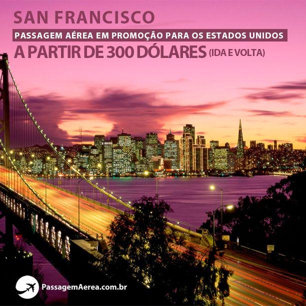 Procurando promoção para os Estados Unidos?  Saiba mais: https://www.passagemaerea.com.br/promocao-san-francisco.html