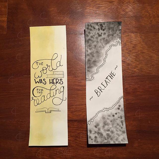 Simpler bookmarks 📚    #book #mark #bookmark #water #color #colour #painting #watercolor #waterpaint #waterpainting