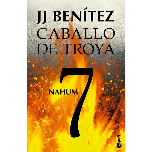 Booket Nahum Caballo De Troya 7 Bolsillo Tapa Blanda En