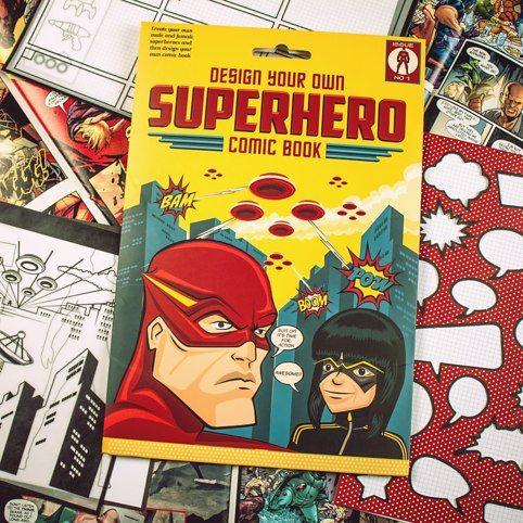 Design Your Own Superhero Comic Book from Firebox.com
