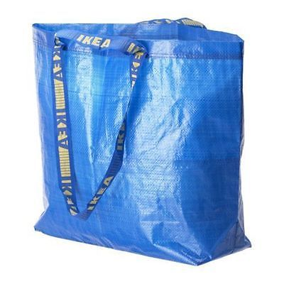 IKEA FRAKTA Medium Reusable Eco Bags Shopping Laundry Tote Travel Storage Bag