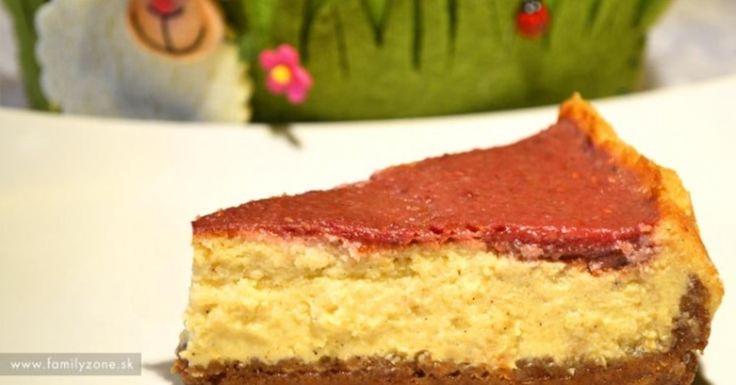 Tento cheesecake som po prvýkrát ochutnala u jednej kamarátky. Predtým, ako som cheesecake dala chladiť do chladničky som si zmixovala maliny s 2 zrelými banánmi a naliala navrch
