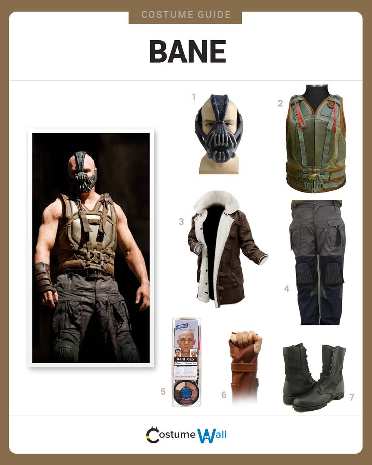 Dress like Bane from The Dark Knight Rises. Get cosplay inspiration and more Bane costume ideas.
