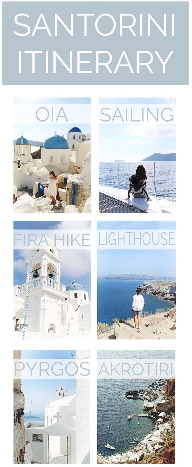 The Definitive Santorini Itinerary - To Vogue or Bust