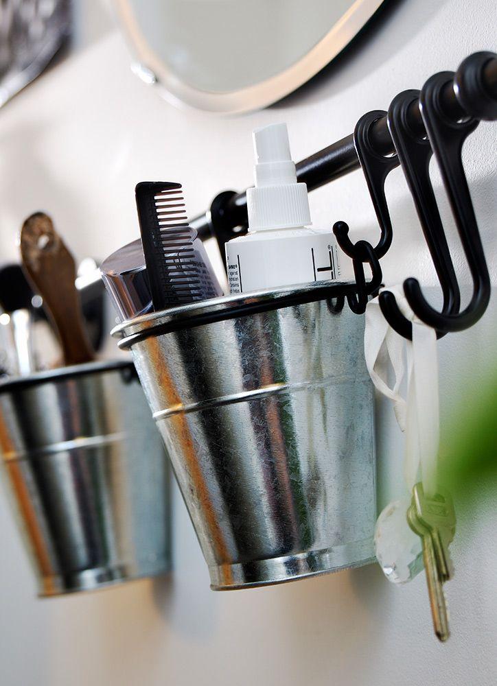 Juegos De Organizar Baños:Una barra de cocina en el baño da mucho juego para guardar todo lo