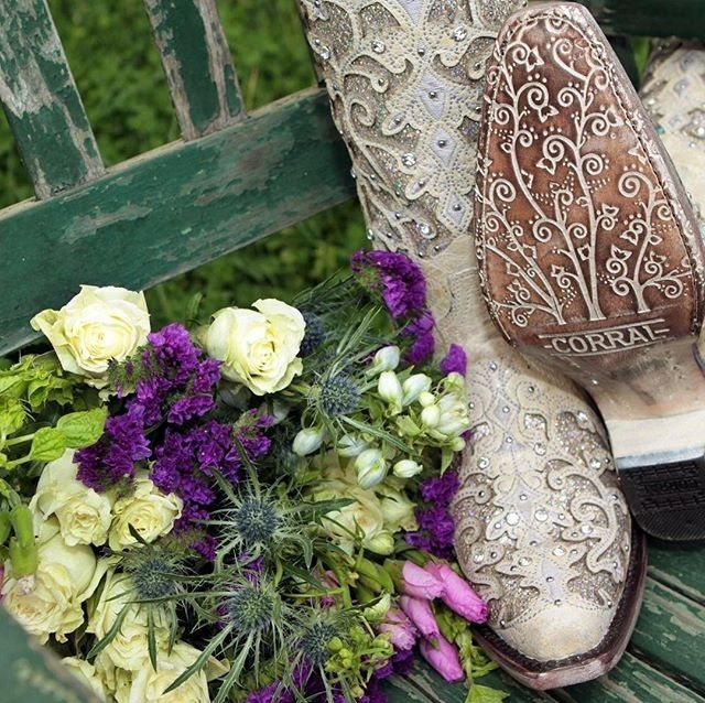 How we do wedding boots! Introducing the 2017 Corral Cowgirl Boot Collection