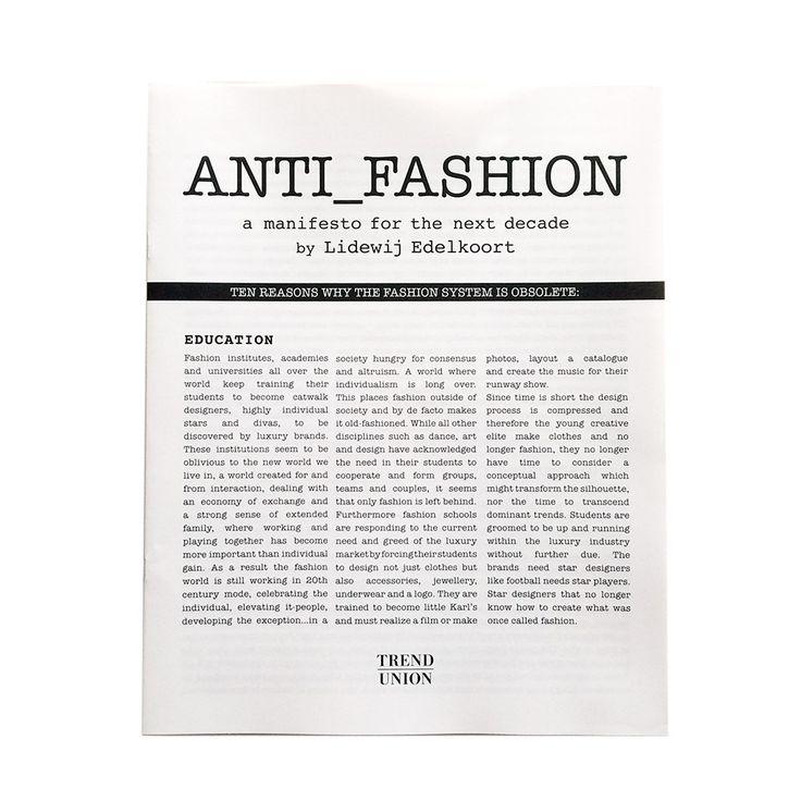Manifesto by Lidewij Edelkoort | lidewij edelkoort