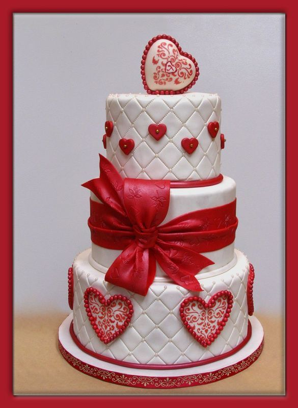valentine day cake designs