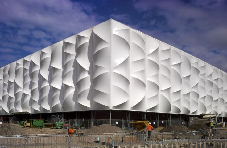 Olympic Basketball Arena in London by Wilkinson Eyre Architects