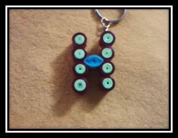 Letter H Key-Chain