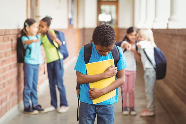 """According to the first federal uniform definition of bullying released by the Centers for Disease Control and Prevention (CDC) and Department of Education, bullying includes elements of """"unwanted aggressive behavior; observed or perceived power imbalance; and repetition of behaviors or high likelihood of repetition."""""""