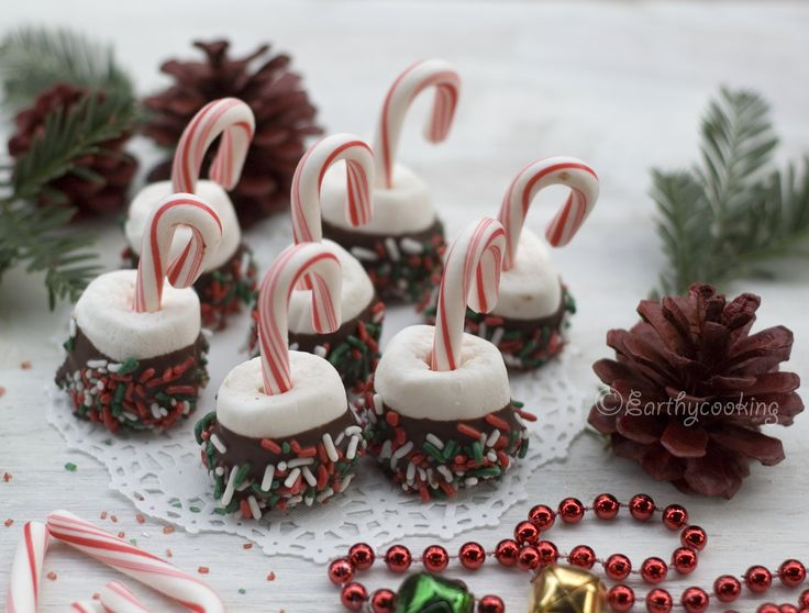 Marshmallow candy cane pops  are very simple treats to make kids happy.