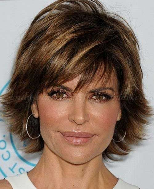 Layered Short Hair Over 50                                                                                                                                                      More http://short-haircutstyles.com/category/popular-in-2016/artist