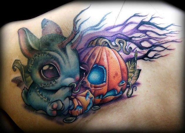 New school pumpkin tattoo google search nueva escuela for Tattoo school listings