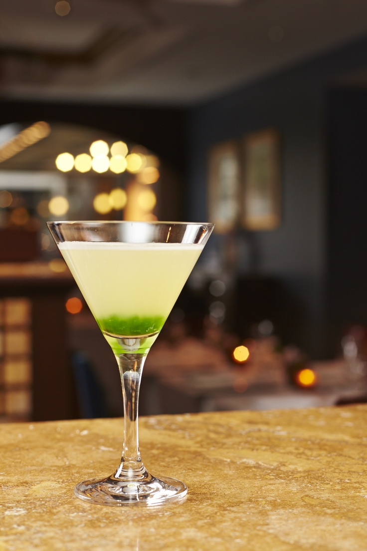 Our Green Tea Martini