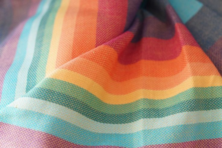 Girasol stripe Double Rainbow Fuision de oro Wrap