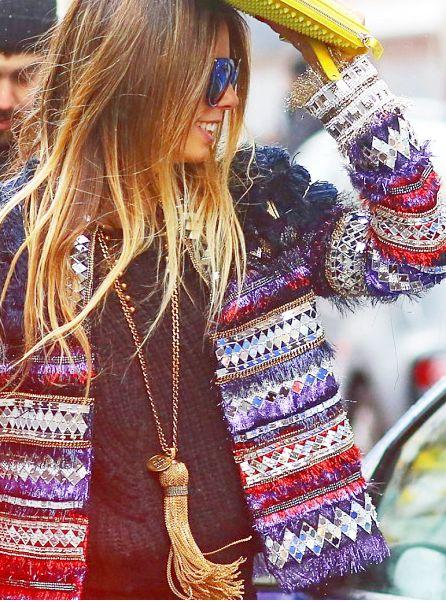 Chanel sequins jacket