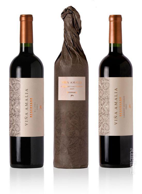 viña amalia wine / vino