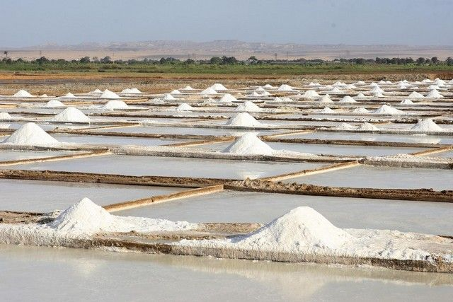Namibe registers reduction in production of iodized salt - Economy - Angola Press - ANGOP