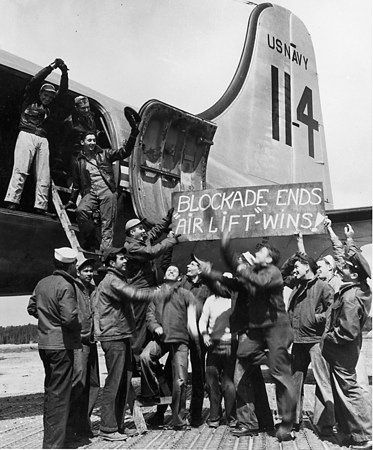 The Candy Bombers and the Berlin Airlift