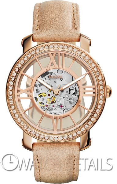 Check now Details Curiosity Automatic Leather Watch - Bone http://goo.gl/gWkTcA Visit site #Watch #Fossil #Womens