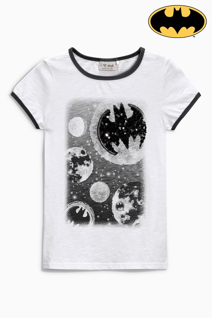 Design t shirt online uk - Buy White Space Batman T Shirt From The Next Uk Online Shop