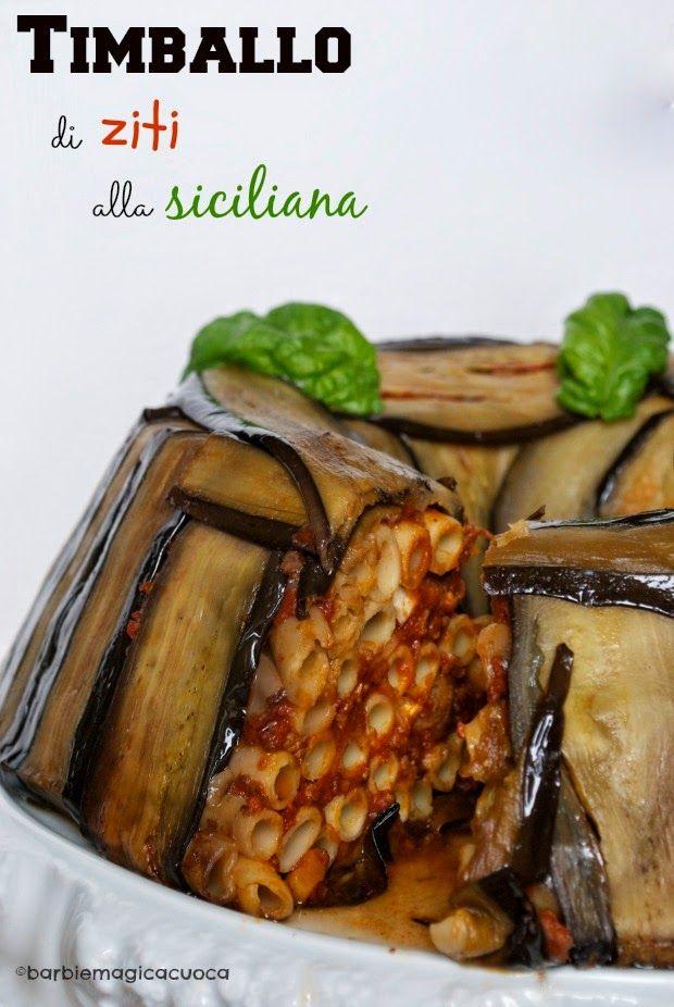 Timballo di ziti alla siciliana