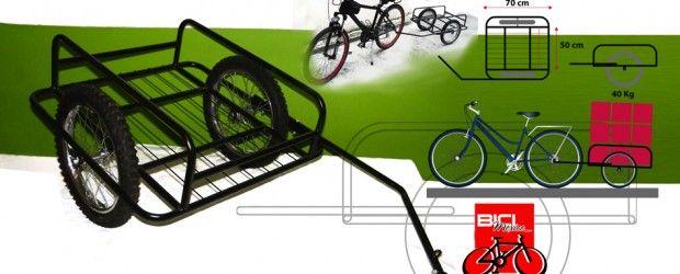 Remolque Para Bicicleta  Desde hace un año teníamos la cosquílla de usar remolques para bicicleta o trailers para todo lo que necesitamos h...