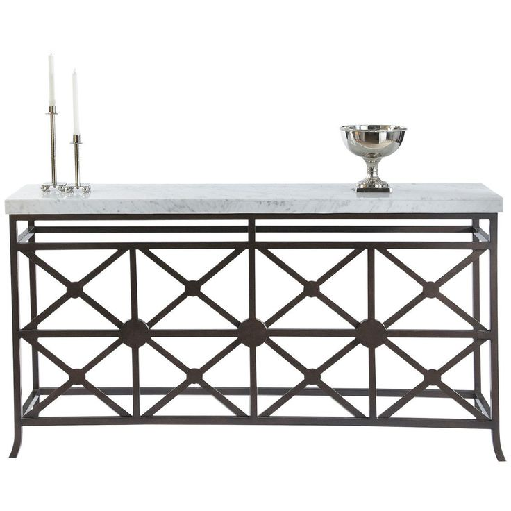 Eton Manor Sofa Table Console | Bronze