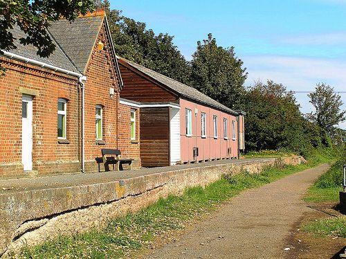 Yarmouth Railway Station - Isle of Wight