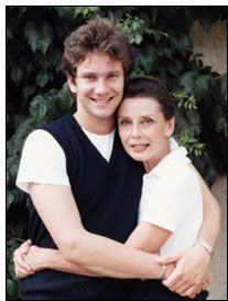 Audrey Hepburn and her son Sean, she was my all time Great Actress