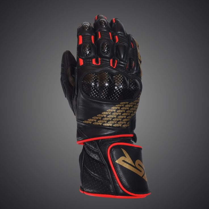 4SR motorbike gloves 96 Limited Edition Gold