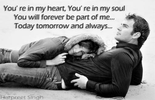 Just as it says.. you are my everything