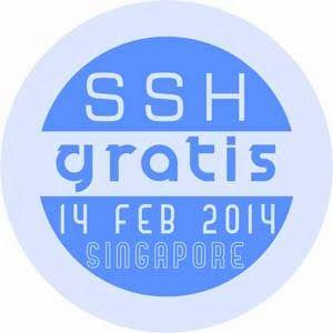 SSH Gratis 14 Februari 2014 Singapore