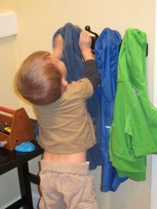 Montessori at Home – The Coat Rack