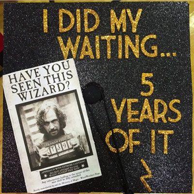 HILARIOUS Harry Potter graduation cap decoration ideas