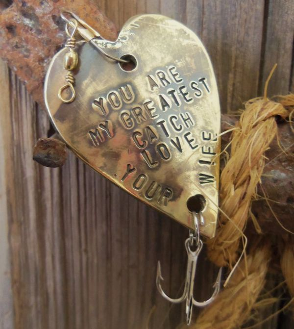 Personalized Fishing Lures Great gifts for men that love fishing