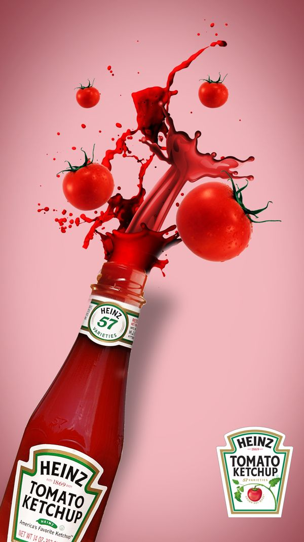 heinz ketchup project by thameez rawlins  via behance