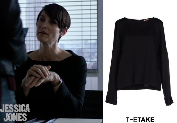 P.A.R.O.S.H. Long Sleeve Blouse inspired by Jeri Hogarth in Jessica Jones | More at TheTake.com