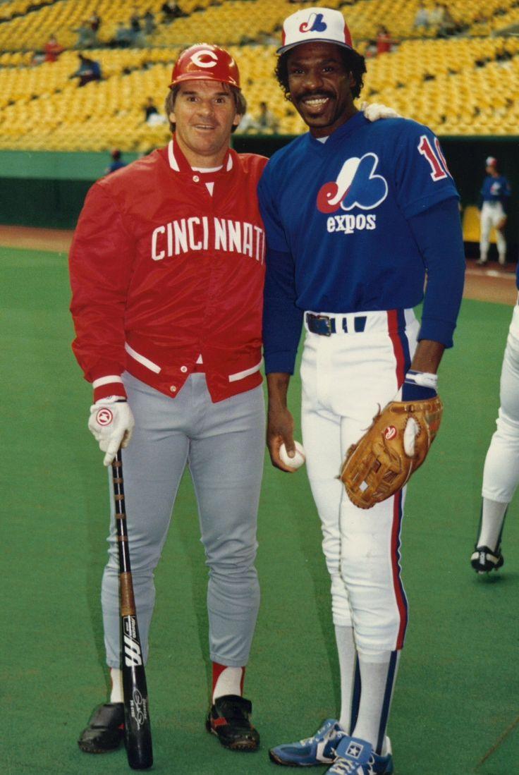 Pete Rose & Andre Dawson