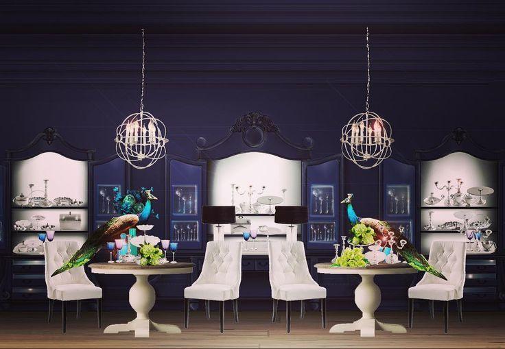 New concept #newideas #retaildesign #retail #luxury #silver #navyblues #design #shop #designer #elegance #fairytail #jewellery #cutlery #instalife #instamood @2kulproject